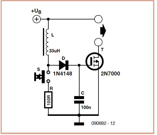 Virtual 9 V Battery Schematic Circuit Diagram 2