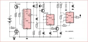 Zapper for Electrotherapy Schematic Circuit Diagram