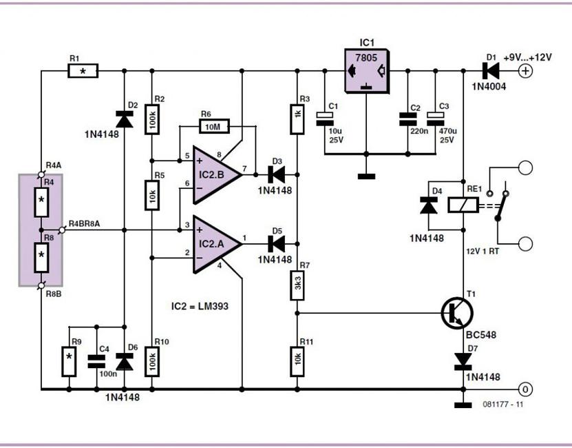 Analog-Electronic-Key-Schematic-Circuit-Diagram-