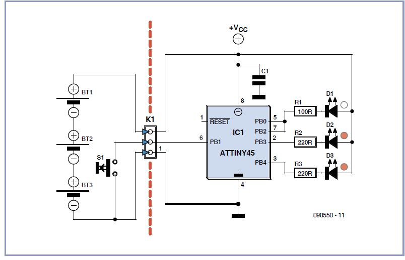 Astrolamp Schematic Circuit Diagram