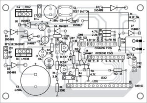 Circuit diagram of automatic battery charger 3