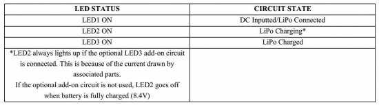 Compact 2S LiPo Battery Charger Schematic Circuit Diagram 3
