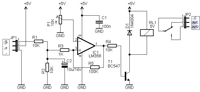 Compact RC Switch Schematic Circuit Diagram 4