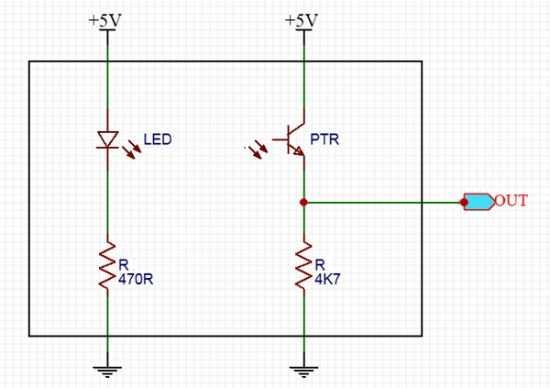 DIY Water Quality Meter Using a Turbidity Sensor Schematic Circuit Diagram 3