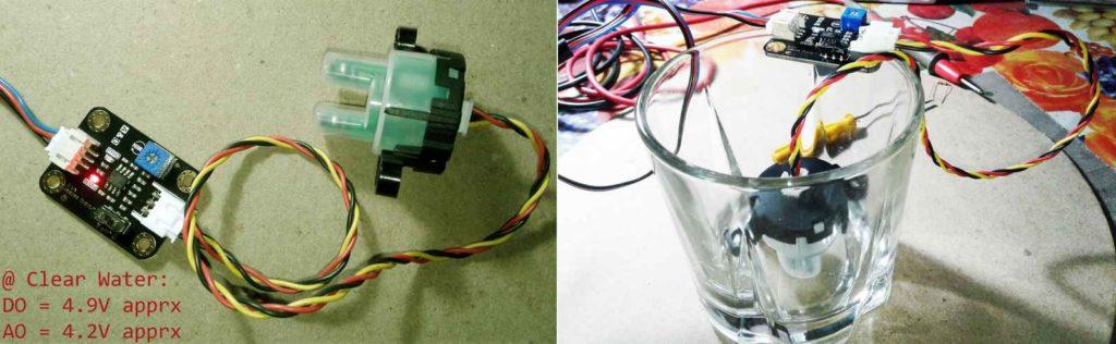 DIY Water Quality Meter Using a Turbidity Sensor Schematic Circuit Diagram 8