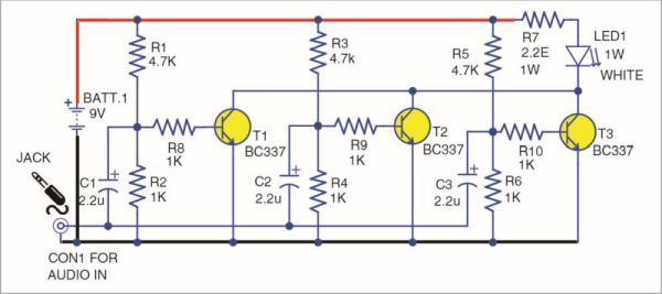 Design Your Own Li-Fi Dongle And Speaker Schematic Circuit Diagram 3
