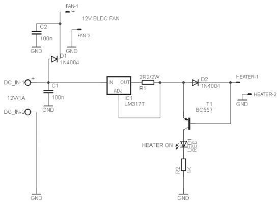 Desktop Smoke Generator Schematic Circuit Diagram 5