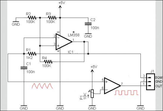 Simple DC Dimmer Circuit Schematic Circuit Diagram 1