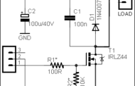 Simple DC Dimmer Circuit Schematic Circuit Diagram