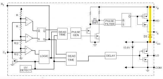Simple Digital Signal Inverter Project Schematic Circuit Diagram 2