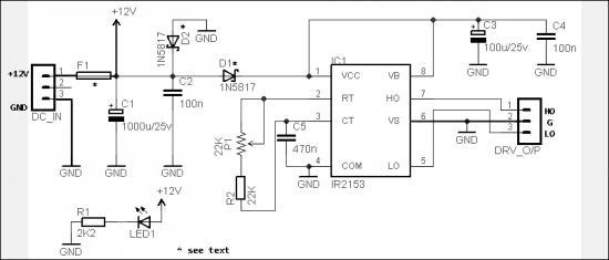 Simple Digital Signal Inverter Project Schematic Circuit Diagram 3