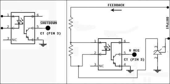 Simple Digital Signal Inverter Project Schematic Circuit Diagram 6