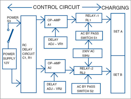 Smart Switch Box for Mobile Chargers and Modems Schematic Circuit Diagram 1