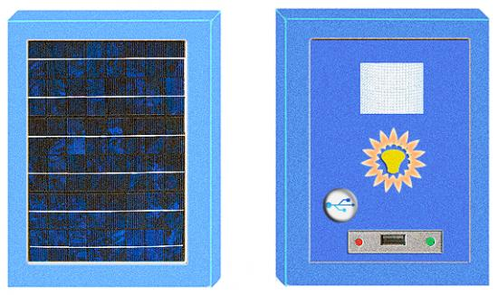 Solar Window Charger Circuit 5
