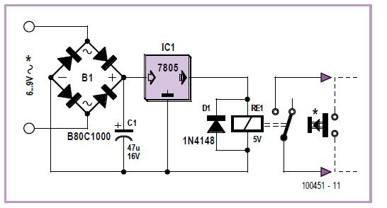 Tandem Doorbell Schematic Circuit Diagram