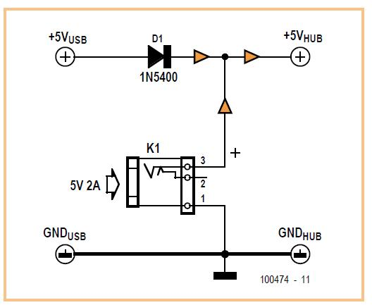 Upgrade your USB Hub Schematic Circuit Diagram