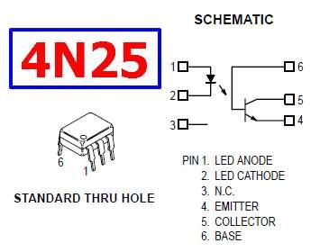 4N25-pinout