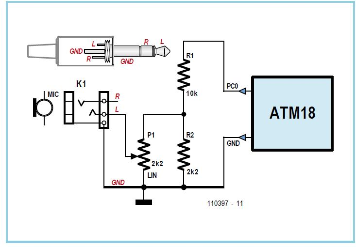 ATM18 Youth Repellent Schematic Circuit Diagram