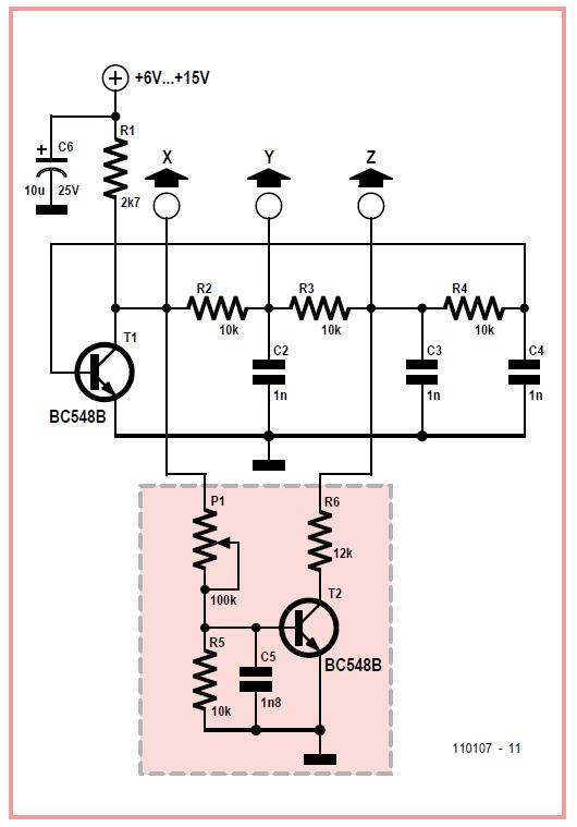 Chaos Generator Schematic Circuit Diagram