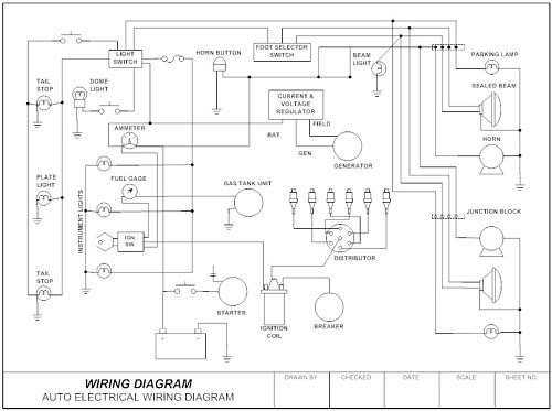 Diagram  Motorboats Electrical Circuit Diagrams Free File