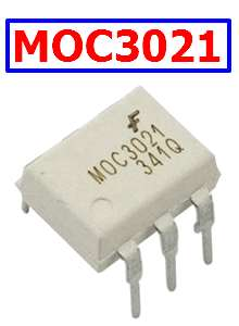 MOC3021 Equivalent Schematic Circuit Diagram