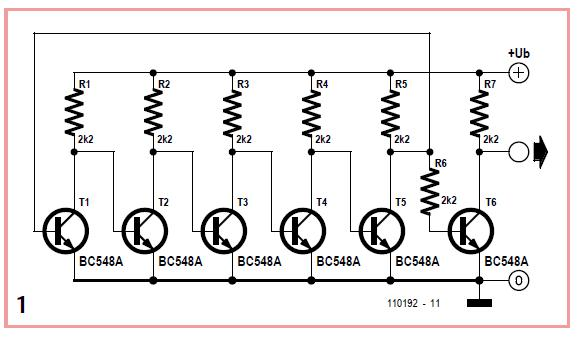 Ring Oscillator Schematic Circuit Diagram