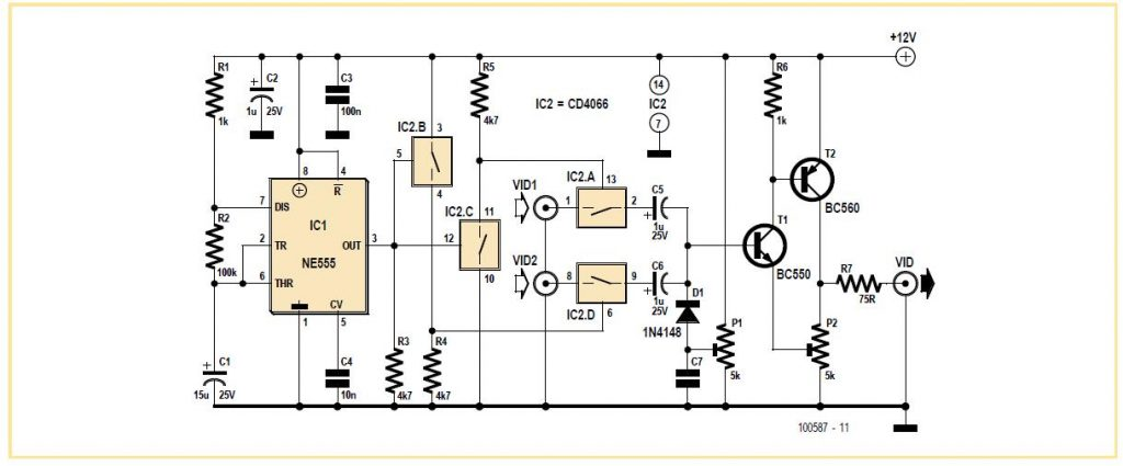 video switch for intercom system schematic circuit diagram