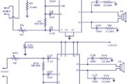 4 X 15 Watt power amplifier schematic circuit diagram