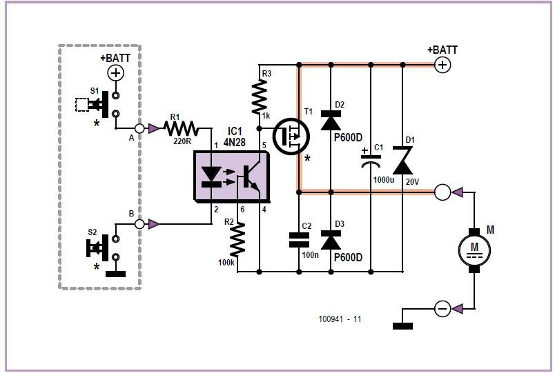 70 A Solid-state Starter Relay Schematic Circuit Diagram