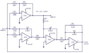 Active Crossover Schematic Circuit Diagram