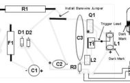 Adjustable Strobe Light Schematic Circuit Diagram