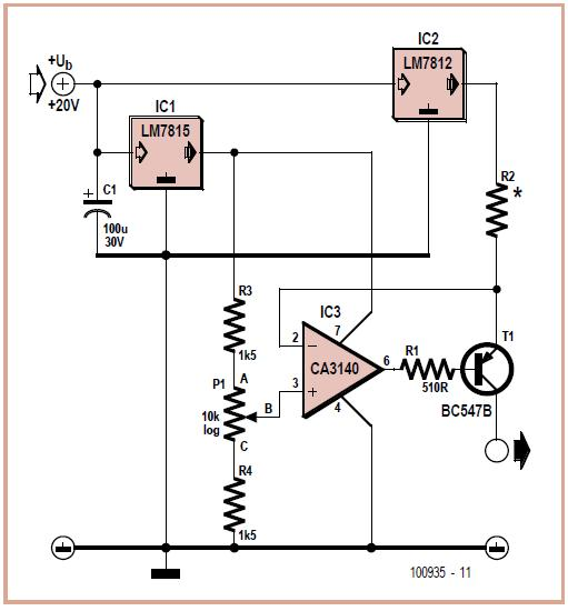 Constant Current Source Schematic Circuit Diagram