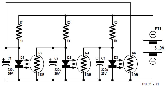 Soft AC Line Start Schematic Circuit Diagram