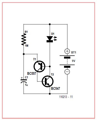 Mini Flasher Schematic Circuit Diagram