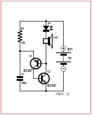 Mini Flasher Schematic Circuit Diagram 2