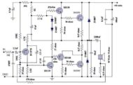 Motional feed back amplifier schematic circuit diagram