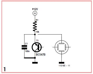 NPN Relaxation Oscillators Schematic Circuit Diagram