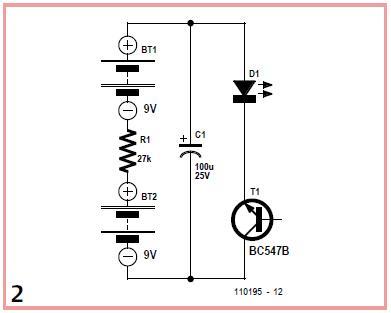 NPN Relaxation Oscillators Schematic Circuit Diagram 2