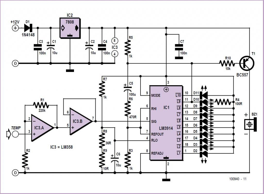 Variable Voltage Injector Schematic Circuit Diagram