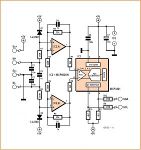 Accurate Universal Measurement Interface Schematic Circuit Diagram