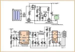 Charge-a-Phone on NiMH Schematic Circuit Diagram