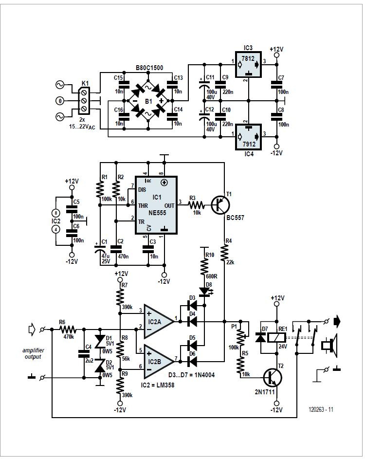 Power LED Driver Schematic Circuit Diagram
