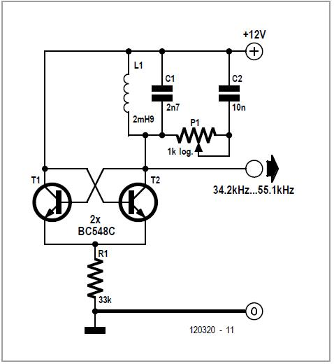 oscillators circuit diagrams archives