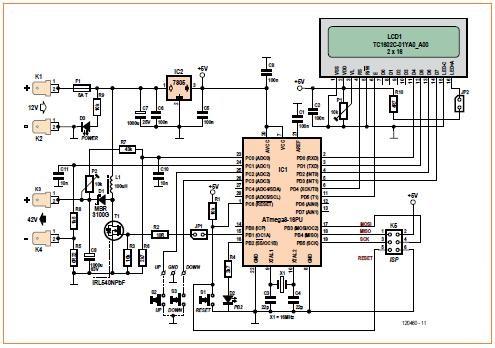 Pwm Step Up Converter Schematic Circuit Diagram