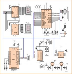 Ambience Lighting Controller Schematic Circuit Diagram