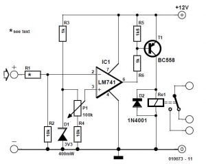 Overvoltage Protection Schematic Circuit Diagram 1