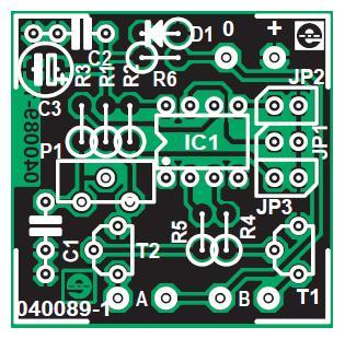 Intelligent Flickering Light Schematic Circuit Diagram..