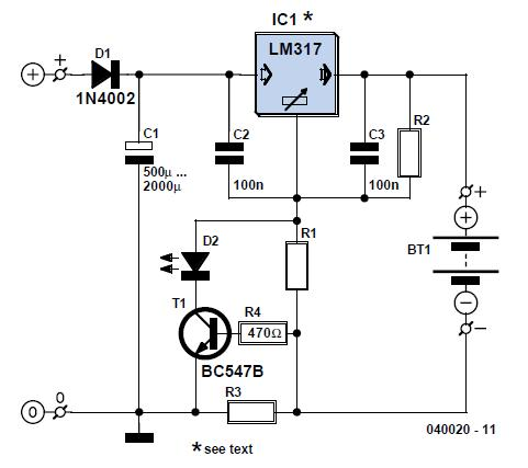 Luxury Car Interior Light Schematic Circuit Diagram