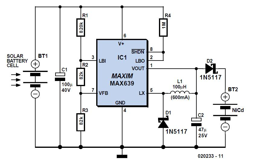 Motor Turn/Stall Detector Schematic Circuit Diagram