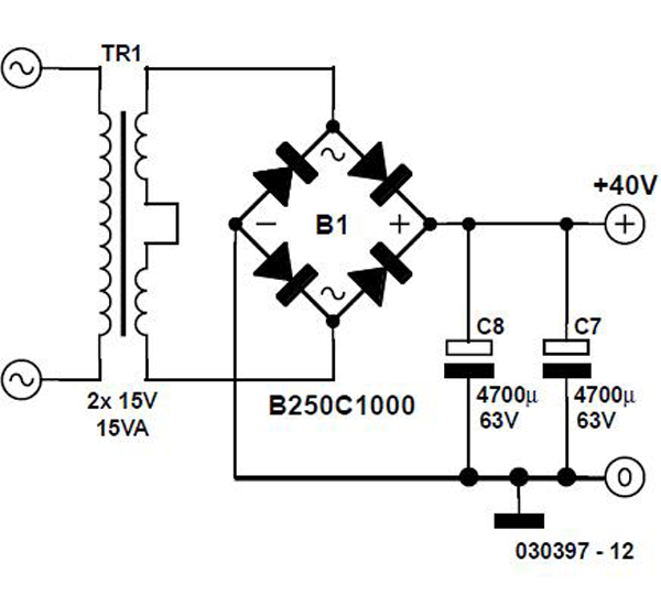 Precision Headphone Amplifier Schematic Circuit Diagram 2